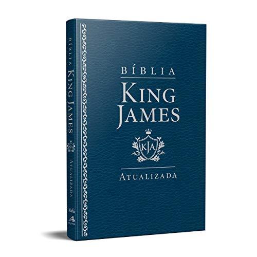 Bíblia King James Atualizada Slim | Kja | Azul