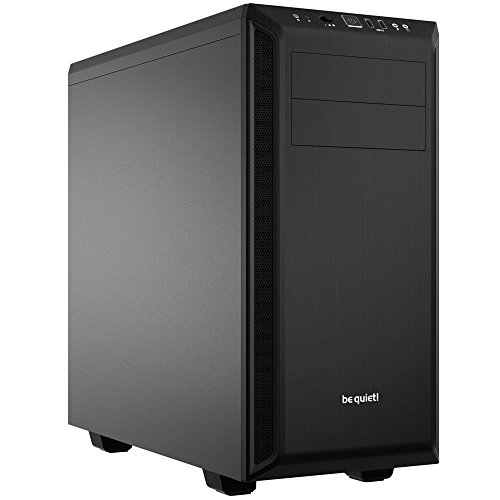 be Quiet! Pure Base 600 Midi-Tower Negro - Caja de Ordenador (Midi-Tower, PC, ABS sintéticos, Acero, ATX,Micro-ATX,Mini-ITX, Negro, Juego)