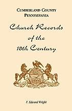 Cumberland County, Pennsylvania, Church Records of the 18th Century