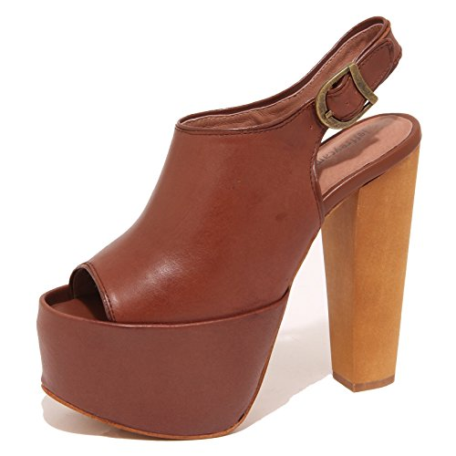 Jeffrey Campbell 6789P Sandalo Marrone Scarpa Donna Shoe Woman [39]