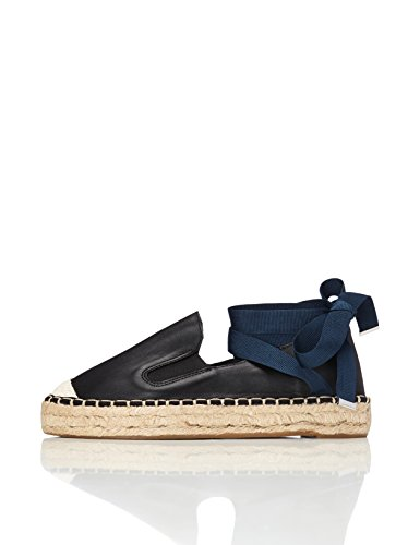find. Espadrillas Donna, Nero (Black), 36 EU
