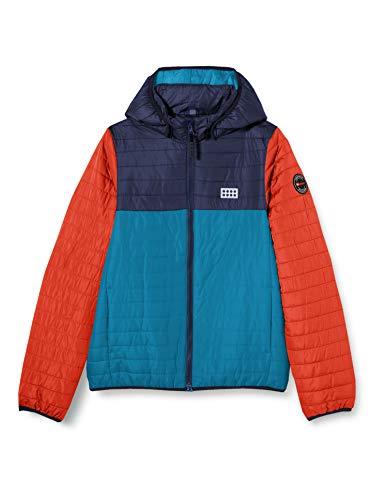 Lego Wear Jungen LWJOSHUA - Winterjacke Jacke, 768 Dark Turquoise, 134