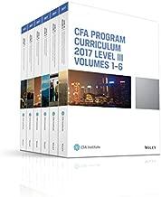 CFA Program Curriculum 2017 Level III, Volumes 1 - 6 (CFA Curriculum 2017)