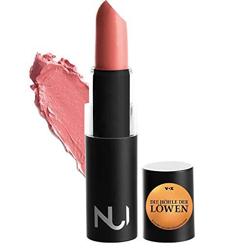 NUI Cosmetics Naturkosmetik vegan natürlich glutenfrei - Natural Lipstick AMIRIA Lippenstift mit warmem Pinkem Nude Farbton