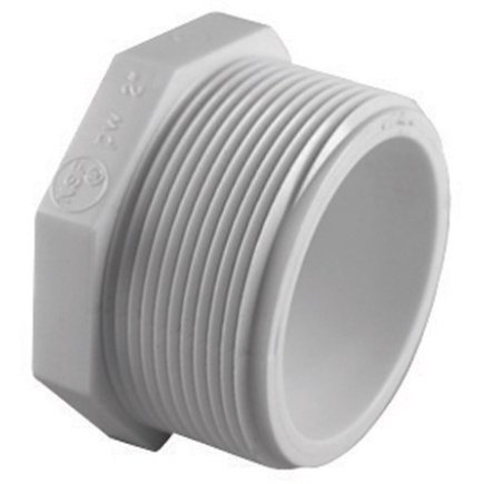 Charlotte Pvc Plug (pvc 02113 1400) by Charlotte Pipe and Foundry