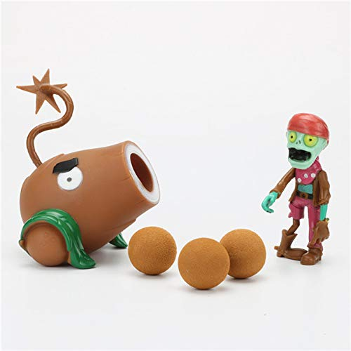 LUCKY Plants vs Zombies Peashooter Action Figure Model Toy Gifts Toys for Children OPP Bag