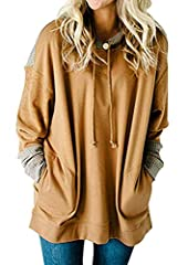 Comfortable to wear and loose fit Knit splice on the hood, shoulder patch and extended cuffs With an adjustable drawstring hood and two side pockets Suitable for different body shapes, and greatly popular with young ladies in the urban Size: (US 4-6)...