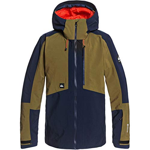 Quiksilver Snow Forever 2L Gore-TEX Jacket Military Olive SM