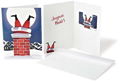 Carte cadeau Amazon.fr - Dans une carte de vœux Père Noël Coincé