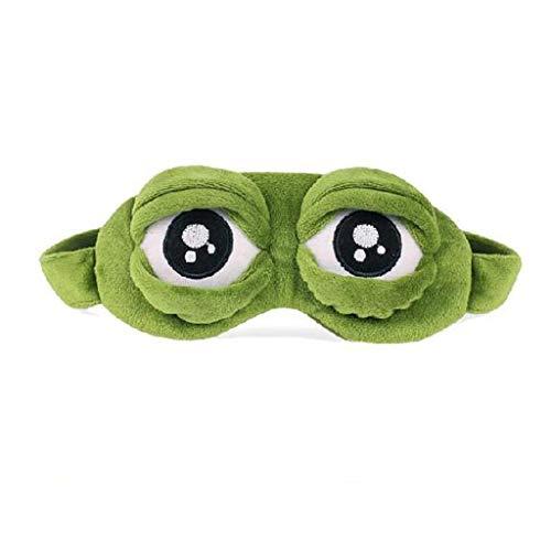YHWLKK Niedlich Flauschig Tieraugenmaske zum Schlafen Reisebreath eyeshade Cartoon Schlafmaske Kinder Erwachsene Frauen