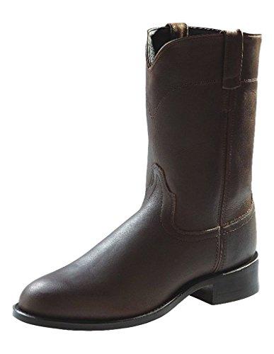 Old West Boots Men's Joseph Brown Distress 10 D US