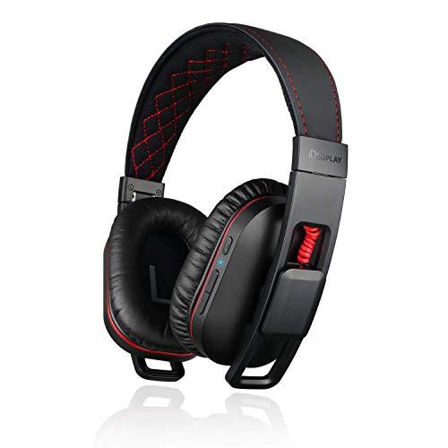 iDeaPLAY Active Noise Cancelling Headphones, Bluetooth Headphones, Wireless Over Ear Headphones Built-in Microphone, apt-X Headphones for Smartphone/Tablet/PC/TV/Travel/Work