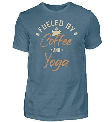 Kundalini Yoga Hatha Yoga | 00953 - Camiseta para hombre Color azul. XXL