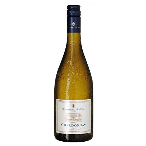 6 x Chardonnay Sélection Prestige Pays D´Oc IGP 2018 Bouchard Ainé & Fils im Sparpack, trockener Weisswein aus der Bourgogne