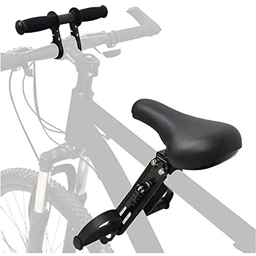 Anforee Kindersitz Fahrrad Mountainbike Vorne Kinder Fahrradsitz, Vorneliegender Kinderfahrradsitz für Mountainbikes mit Lenker von 2-5 Jahren Kompatibel mit Allen Erwachsenen MTBs ((Seat+Handle))
