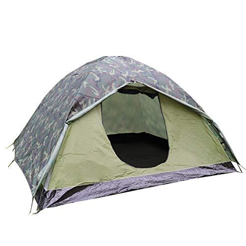 Climecare Zelt 2 3 Personen Mann Wasserdicht wurfzelt Camping Atmungsaktiv Einfache Einrichtung für draussen Wandern
