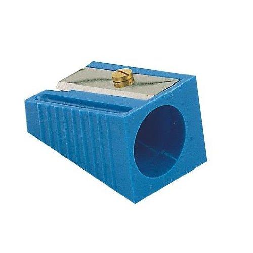 Temperamatite plastica grandi Matite diam 17mm Blu
