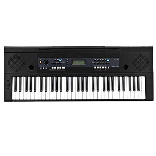ZKHD Teclado de Velocidad de 61 Llave, Prueba Profesional Piano eléctrico para...