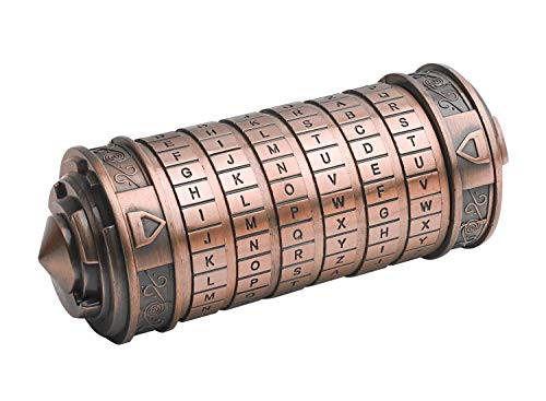 Da Vinci Code Mini Cryptex Valentine's Day Interesting Creative Romantic Birthday Gifts for Her