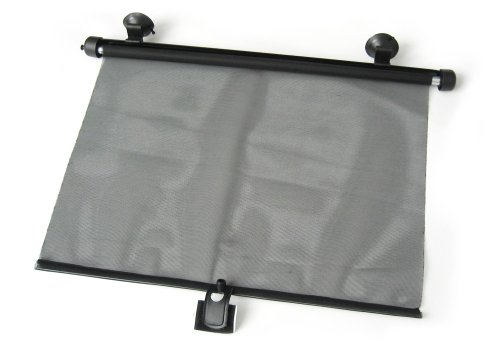 REER Le rouleau pare-soleil accessoires voiture protections contre les intempéries, noir