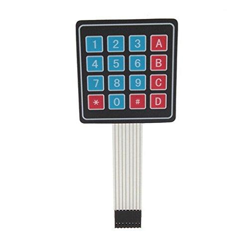 4 x 4 Matrix Array 16 Teclas Membrana Switch Teclado Teclado para Arduino/AVR/PI?C