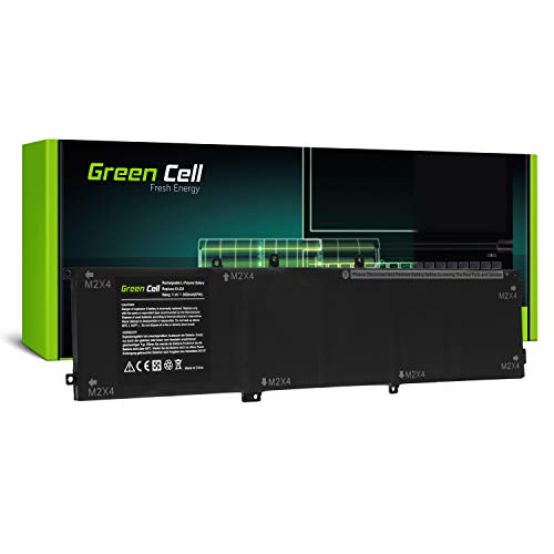 Green Cell® 6GTPY 5XJ28 Batteria per Portatile Dell XPS 15 7590 9560 9570, Dell Precision 15 5520 5530 (8000mAh 11.4V)