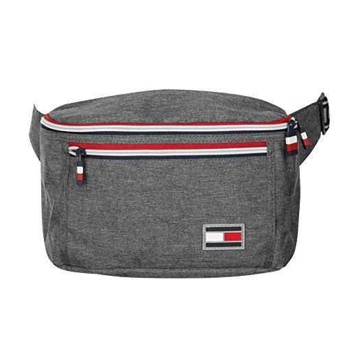 Tommy Hilfiger Luggage Men's TCCI City Trek Waist Bag Fanny Pack White