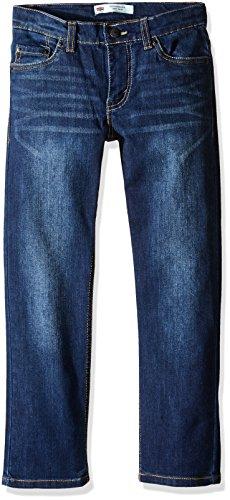 Levi's Boys' Big 511 Slim Fit Performance Jeans, Resilient Blue, 10