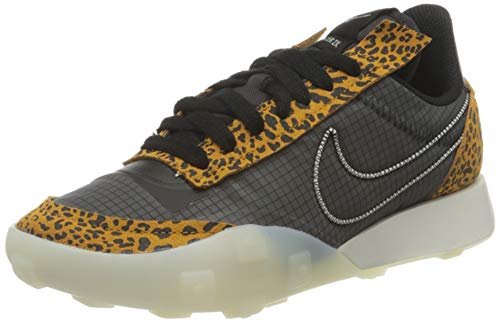 Nike Waffle Racer 2X, Zapatillas Deportivas Mujer, Black Sail Chutney, 37.5 EU