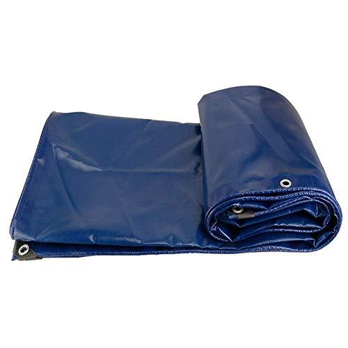 ZHUAN Lona Impermeable Resistente para prevenir Las Malas Condiciones climáticas Cubierta para Camiones Fácil de Manejar y Transportar Refugio al Aire Libre con Ojales galvanizados, 16 tamaños (Co