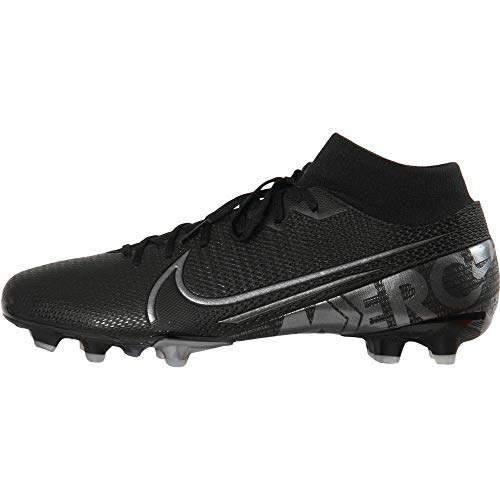 Nike Herren Superfly 7 Academy FG/MG Fußballschuh, Mehrfarbig Black MTLC Cool Grey Cool Grey 001, 43 EU