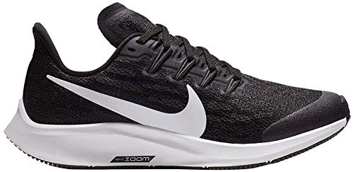 Nike Air Zoom Pegasus 36 (GS), Zapatillas Unisex niños, Negro (Black/White/Thunder Grey 001), 32 EU