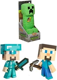 JINX Minecraft Figure & Plush Set of 3