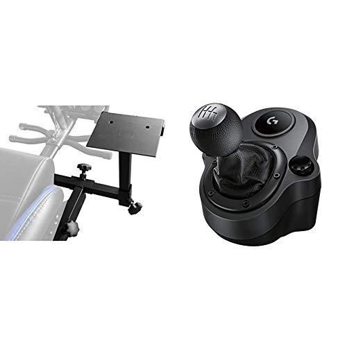 Subsonic - Support pour Levier de Vitesse pour siège de Simulation SRC 500, SRC 500 S SRC 1000 & Logitech G Driving Force Levier de Vitesse pour Volant de Course G29 et G920, 6 Vitesses - Noir