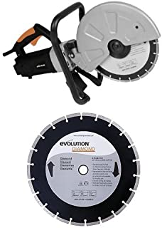 Evolution DISCCUT1 12-Inch Disc Cutter with 12-Inch Diamond Blade
