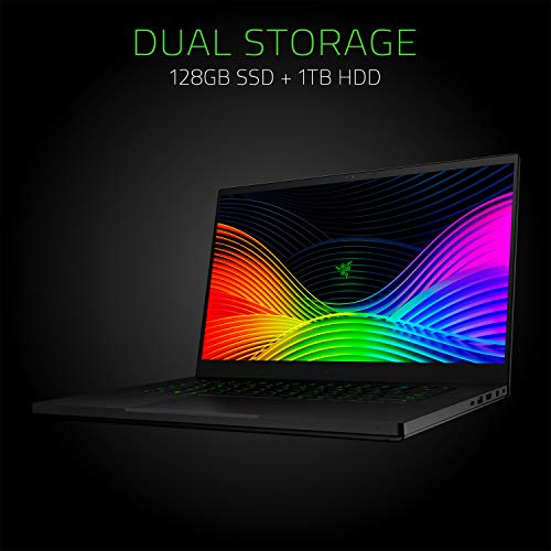 Razer Blade 15 Gaming Laptop 2019: Intel Core i7-9750H 6 Core, NVIDIA GeForce GTX 1660Ti, 15.6