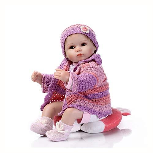 Rebirth Doll Accesorios De Fotografía Para Bebés Juguete Popular Para Jugar A Las Casitas 58cm Simulación Bebé Material De Silicona Suave Muñeca De Regalo Muñeca De Baño Niño Regalo Creativo, Acompaña