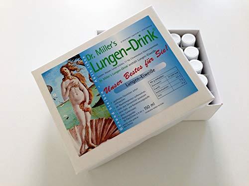 Dr. Miller's Lungen Drink, Monatspackung, Lungen-Eiweiße Getränk Lungen Getränk