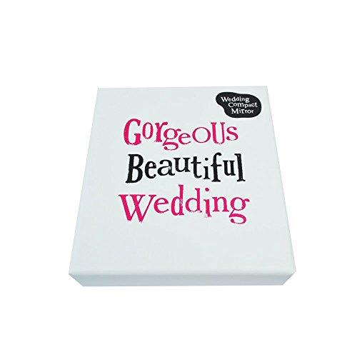 De heldere kant compacte spiegel - prachtige mooie bruiloft (nieuwe Range)