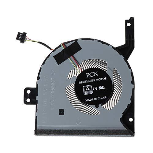 JOYKK Vervangen Laptop CPU Koeling Ventilator Koeler Compatibel Met voor X542 X542BA X542U X542UA X542UQ X542UR 13N1-26P0211 13NB0FD0T04111 - Grijs