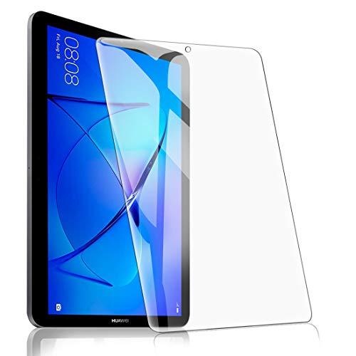 [1 Pack] Protector Pantalla para Huawei MediaPad T3 10.0,  Cristal Film Protector de Pantalla de Vidrio Templado Alta Claridad 9H Dureza Resistente Anti- Arañazos