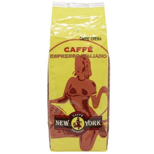 Caffé New York Super Crema Espresso Kaffee 1000g Bohnen