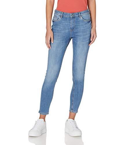 edc by ESPRIT Damen 110CC1B321 Jeans, 902/BLUE MEDIUM WASH, 29/28