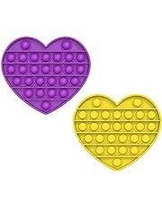 MAGIC SELECT Push Pop Bubble Sensory Fidget Toy, Giocattolo Anti Stress allevia l'ansia, Bolle di Silicone Push Pop, per Autismo Bisogno Speciale Antistress.