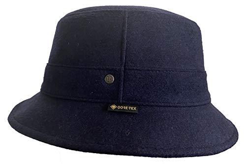 Wegener Gore-TEX  Bucket Hat Outdoor pescatore Cappello di lana con paraorecchie, traspirante, impermeabile 19 - blu. X-Large