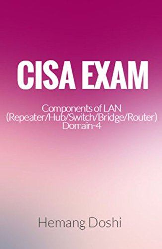CISA Exam-Testing Concept-Components of LAN (Repeater/Hub/Switch/Bridge/Router) Domain-4 (English Edition)