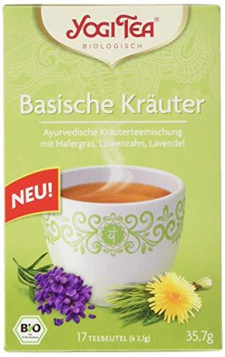 Yogi Tee Basische Kräuter 17 Beutel, 3er Pack (3 x 34 g)