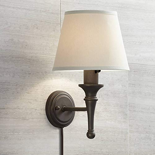 long wall sconce plug in - 1