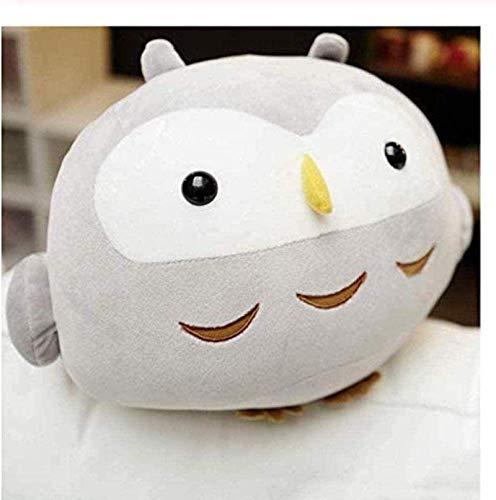 Super süße sitzende Eule Plüsche Gefüllte weiche Eiderdown Baumwolle Puppe Kawaii Geburtstagsspielzeug Geschenk für Kind Kinder 30cm dedu