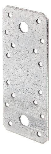 Platte verbindingen, grootverpakking, sendzimir verzinkt 135 x 55 mm / 15 Stk.